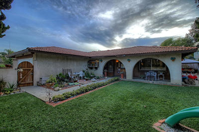 Ventura Single Family Home For Sale: 1701 Ramelli Avenue