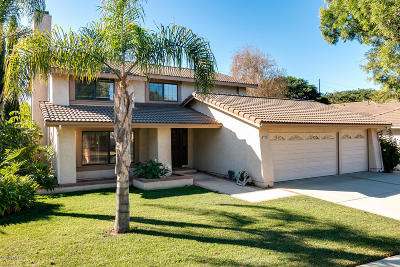 Oxnard Single Family Home Active Under Contract: 1907 Spyglass Trail E