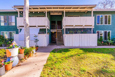 Ventura CA Condo/Townhouse Active Under Contract: $270,000