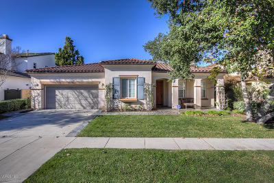 Newbury Park Single Family Home For Sale: 5245 Via Jacinto