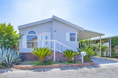 Oxnard Mobile Home Active Under Contract: 1101 Ventura Boulevard #177