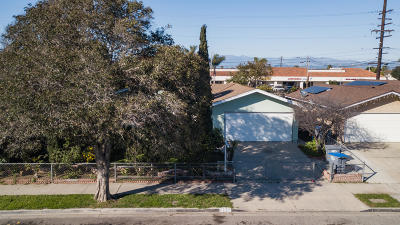 Oxnard Single Family Home For Sale: 2145 Sierra Way