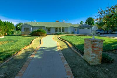 Thousand Oaks Single Family Home For Sale: 1388 Strawberry Hill Road