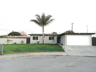 Oxnard Single Family Home For Sale: 1916 Elsinore Court