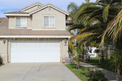 Oxnard Single Family Home For Sale: 1765 Valentina Drive