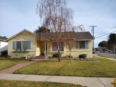 Ventura CA Single Family Home For Sale: $585,000