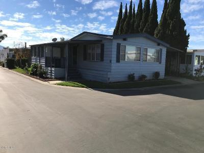 Camarillo Mobile Home For Sale: 91 Via Gabilan