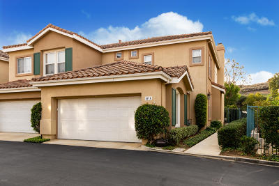 Simi Valley Condo/Townhouse For Sale: 567 Bannister Way #A
