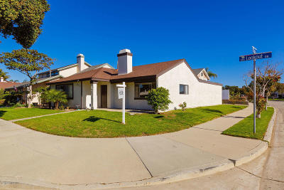 Oxnard Single Family Home Active Under Contract: 1860 Lookout Drive