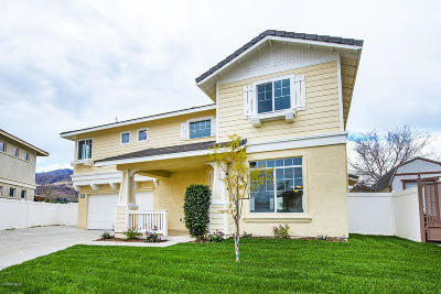 Fillmore Single Family Home Active Under Contract: 1093 Candelaria Lane