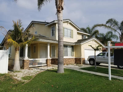 Oxnard Single Family Home Active Under Contract: 835 Caliente Way