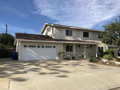 Camarillo Single Family Home For Sale: 1991 Jose Avenue
