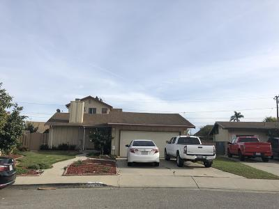 Oxnard Single Family Home For Sale: 540 Street