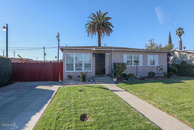 Oxnard Single Family Home Active Under Contract: 5011 Refsing Place