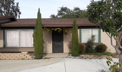 Oxnard Single Family Home Active Under Contract: 251 Juneau Place