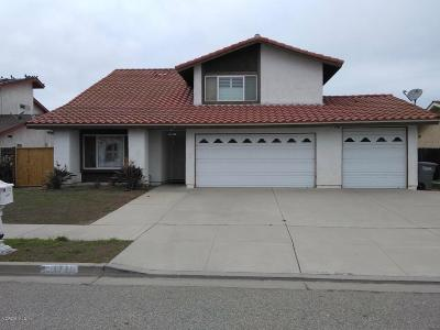 Oxnard Single Family Home For Sale: 1731 Kelp Street