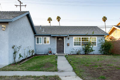 Oxnard Single Family Home Active Under Contract: 3611 La Costa Place
