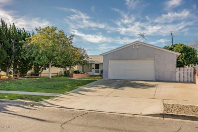 Ventura Single Family Home For Sale: 763 Phoenix Avenue