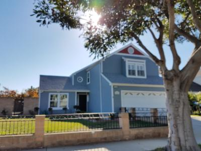 Oxnard CA Single Family Home For Sale: $618,000