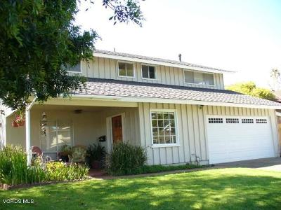 Ventura Single Family Home For Sale: 231 Bethel Avenue