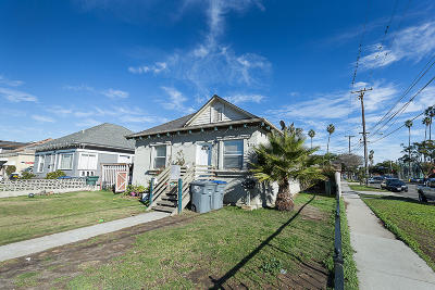Oxnard Multi Family Home Active Under Contract: 160 S D Street