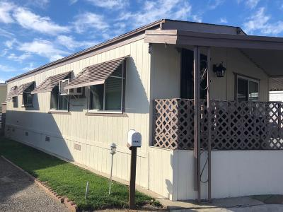 Oxnard Mobile Home For Sale: 3687 Orange Grove Avenue #15