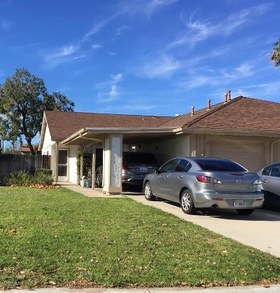 Camarillo Single Family Home For Sale: 19 Abrazo Drive