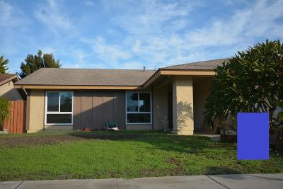 Oxnard Single Family Home For Sale: 1401 Juneberry Place
