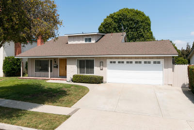 Ventura Single Family Home Active Under Contract: 1712 Swift Avenue