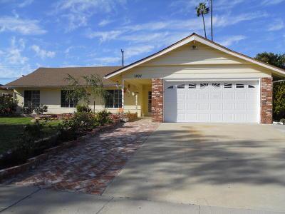Camarillo Single Family Home For Sale: 1207 Seybolt Avenue