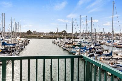 Oxnard Condo/Townhouse For Sale: 3101 Peninsula Road #115