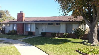 Oxnard Single Family Home For Sale: 2114 Norma Street