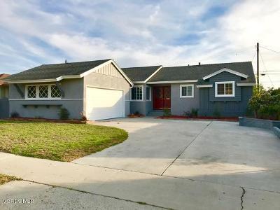 Ventura Single Family Home For Sale: 4656 Varsity Street