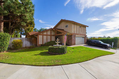 Camarillo Single Family Home Active Under Contract: 1038 Green Lawn Avenue