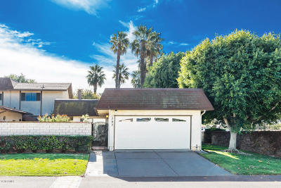 Camarillo Single Family Home Active Under Contract: 1702 Monte Vista Drive