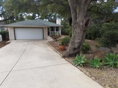 Ojai Single Family Home For Sale: 2231 Maricopa Highway