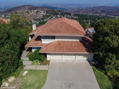 Thousand Oaks Single Family Home For Sale: 4048 Corte Cima