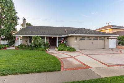 Camarillo Single Family Home Active Under Contract: 1548 Tamarix Street