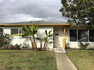 Oxnard Single Family Home For Sale: 941 W Juniper Street