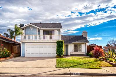 Ventura Single Family Home For Sale: 9902 Jamestown Street