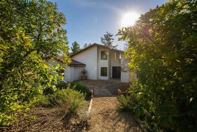 Ojai Single Family Home For Sale: 1370 Cuyama Road
