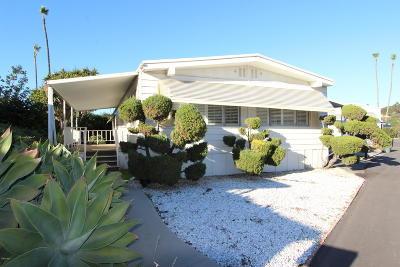 Ventura County Mobile Home Active Under Contract: 4388 W Central Avenue #92