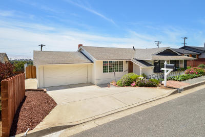 ventura Single Family Home For Sale: 2448 Sherwood Drive