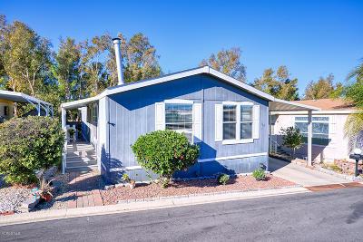 Camarillo Mobile Home Active Under Contract: 1150 Ventura Boulevard #119