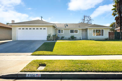 Camarillo Single Family Home For Sale: 2184 Briarfield Street