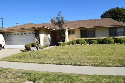 Ventura Single Family Home For Sale: 242 Teloma Drive