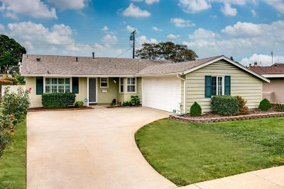 Ventura Single Family Home For Sale: 4036 Monroe Street