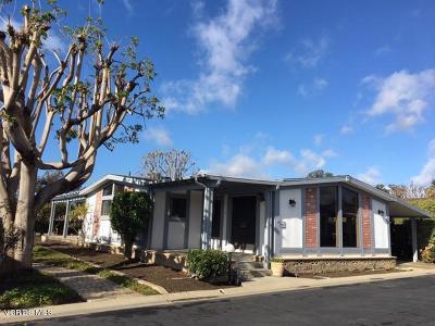 Ventura Mobile Home Active Under Contract: 4700 Aurora Drive #64