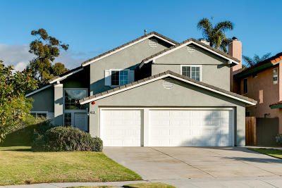 Ventura Single Family Home Active Under Contract: 430 Newport Avenue