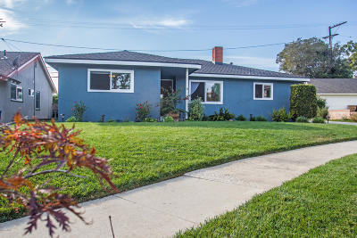 Ventura Single Family Home For Sale: 375 Homer Avenue